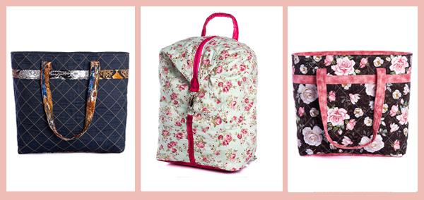 bolsas e mochilas presente dia das maes