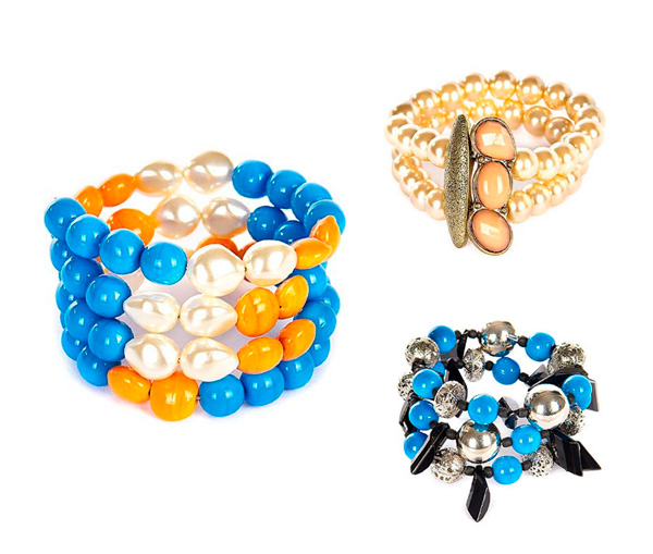 mix de pulseiras vila das joias